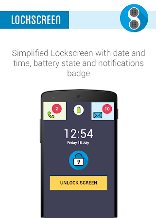Phonotto Simple Phone Launcher versionName='1.10.6 screenshot 984599