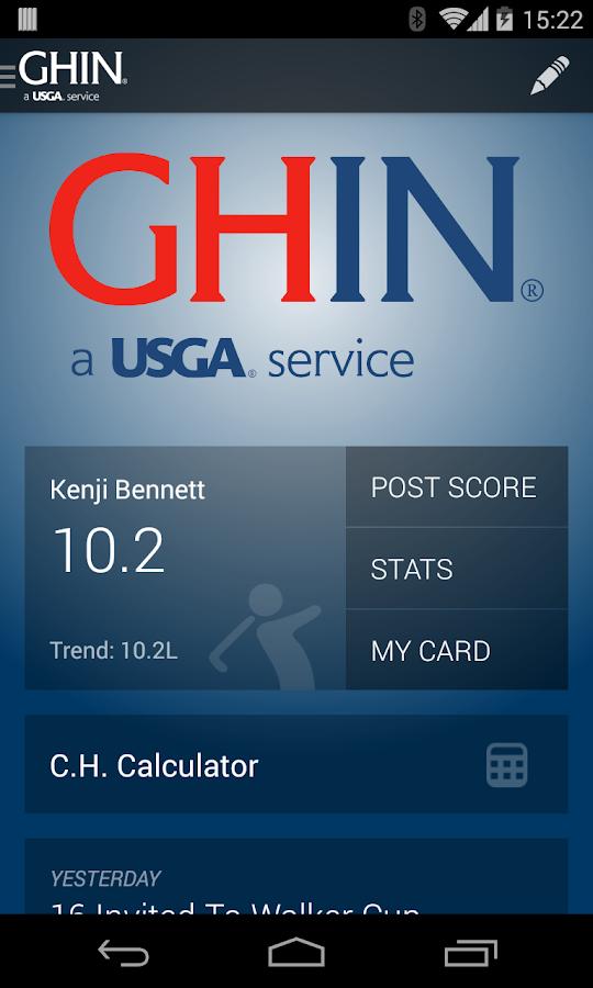 how to get a usga handicap card