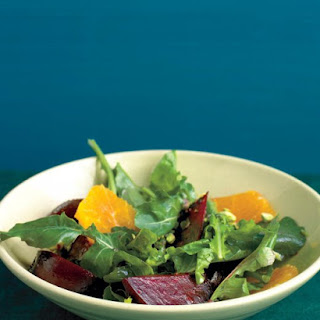 Beet Salad with Arugula and Oranges.