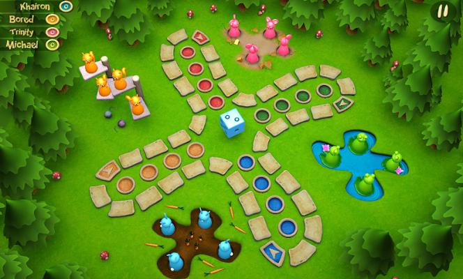 Purpulo Ludo 3D - screenshot