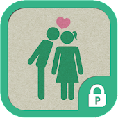 Love pictogram protector theme