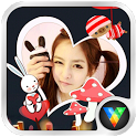 Beauty Stickers Live Wallpaper icon