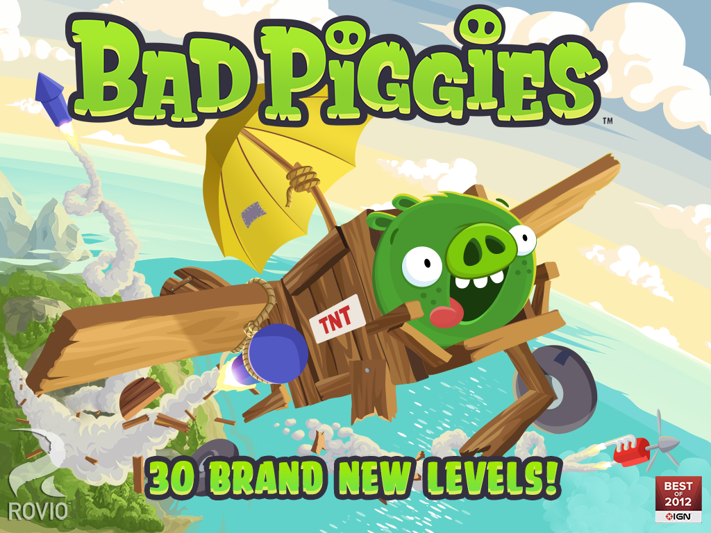 Bad Piggies HD - screenshot