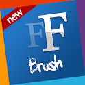 Brush free fonts 4 Samsung icon