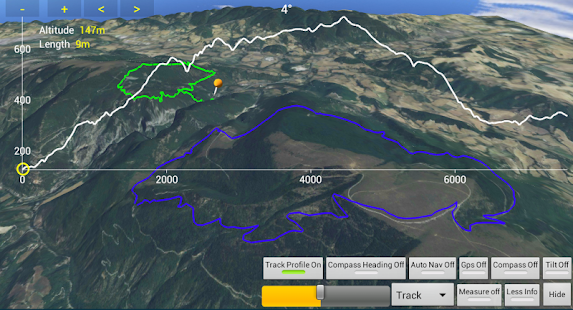 Map Gps Hiking Navigator Trial - screenshot thumbnail
