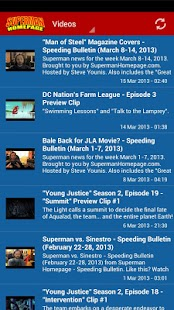 Superman Homepage- screenshot thumbnail