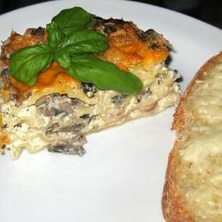 Aunty Pasto's Seafood Lasagna.