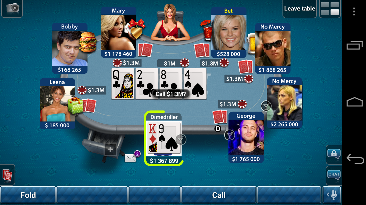 Texas poker iphone chips hack