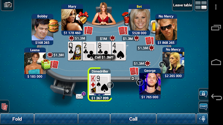 Pokerist for Tango 5.4.21 screenshot 1931