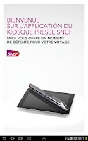 Screenshot of Kiosque Presse SNCF