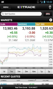 E*TRADE Mobile - screenshot thumbnail