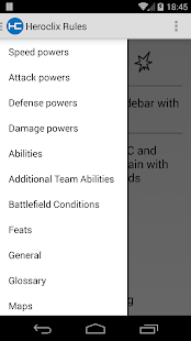 Heroclix Rules - screenshot thumbnail