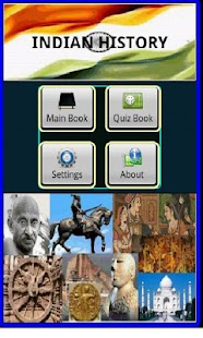 Indian History, Book & Quiz - screenshot thumbnail