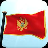 Montenegro Flag 3D Free