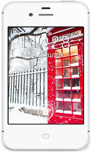 British Winter live wallpaper