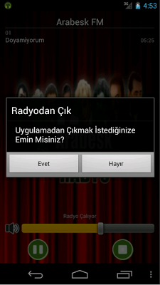 Radyo Arabesk - Damar FM - screenshot