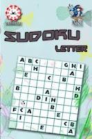 Screenshot of Sudoku Letter