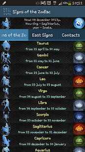 Signs of the Zodiac - screenshot thumbnail
