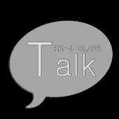 RX4 KakaoTalk Theme-GLASS