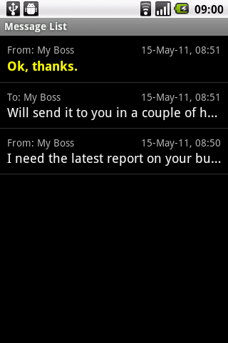 Secret SMS SPI-Full - screenshot