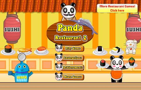Panda Sushi Restaurant 模擬 App-愛順發玩APP