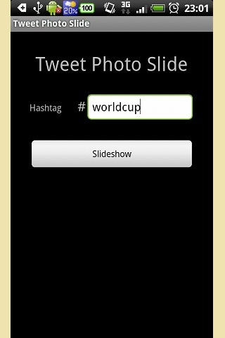 Tweet Photo Slide- スクリーンショット