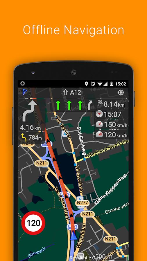 OsmAnd+ Karten & Navigation - screenshot