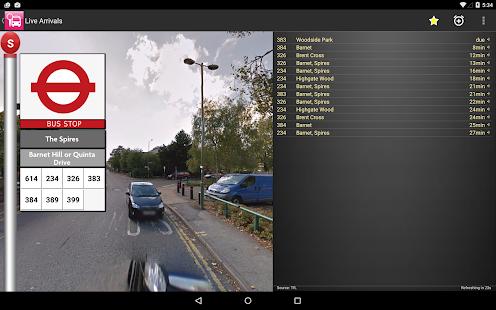 London Bus Checker Live Times - screenshot thumbnail