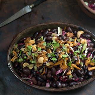 Ayocote Bean & Mushroom Salad