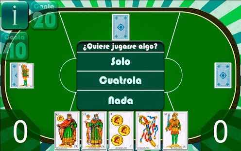 Cuatrola Spanish Solitaire- screenshot thumbnail