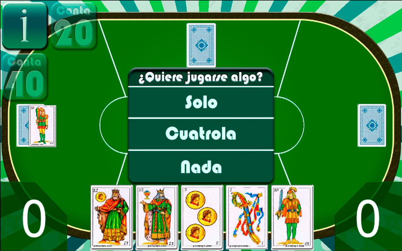 Cuatrola Spanish Solitaire - screenshot