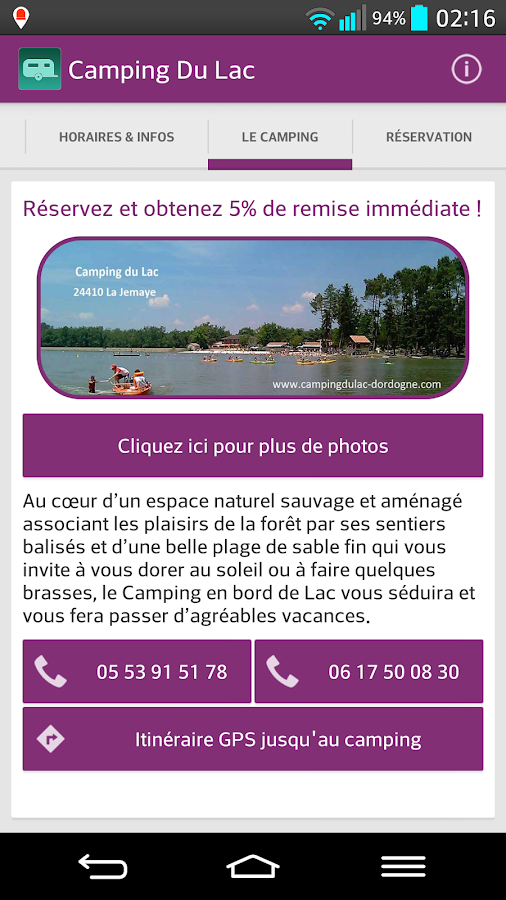 Camping Du Lac- screenshot