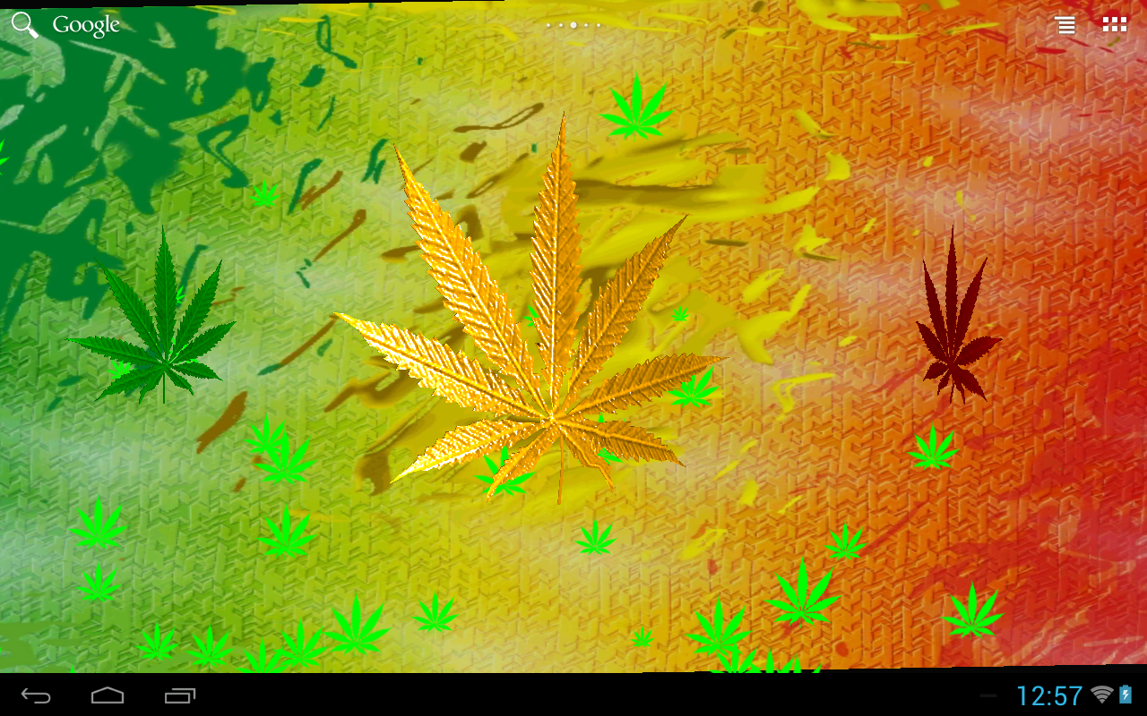 live pot leaf wallpaper