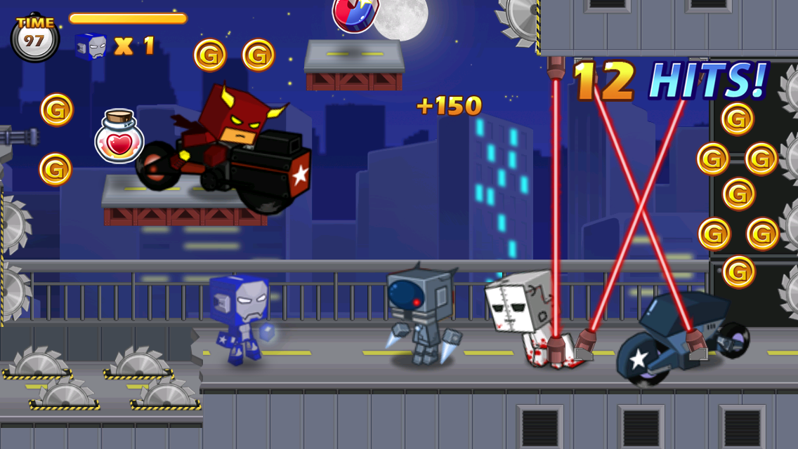 AVENGER-X- screenshot