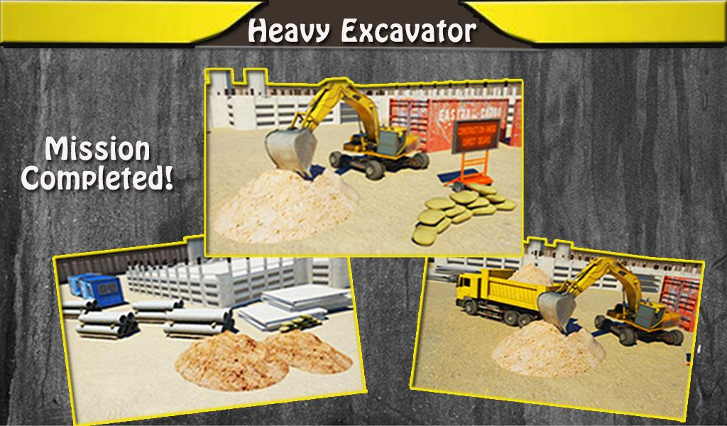 Heavy Excavator 3D Simulator 2- screenshot