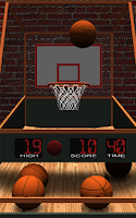 Screenshot of Quick Hoops Basketball - Free