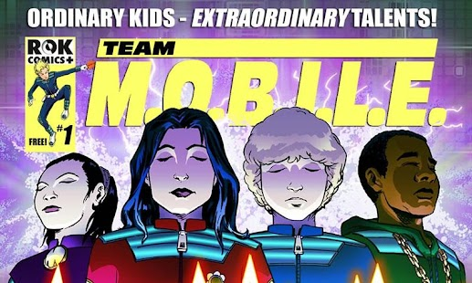 Team M.O.B.I.L.E Comic - screenshot thumbnail