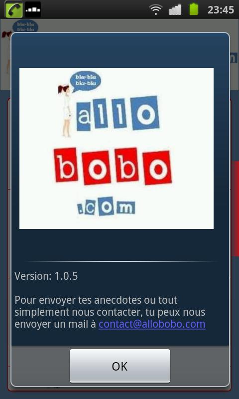 AlloBobo - screenshot