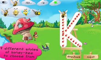 Screenshot of I Can Write ABC kids alphabets