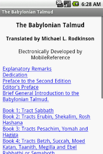 The Babylonian Talmud - screenshot thumbnail