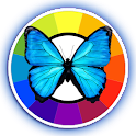 Butterfly Clock Daydream icon