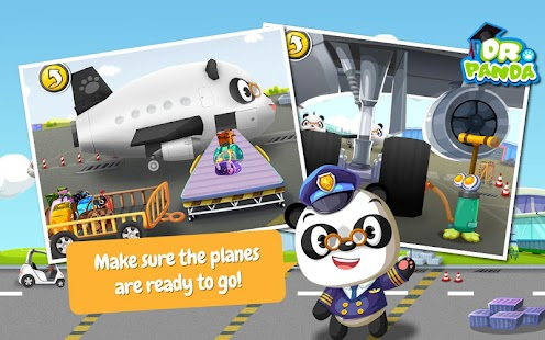 Dr. Panda's Airport- screenshot thumbnail