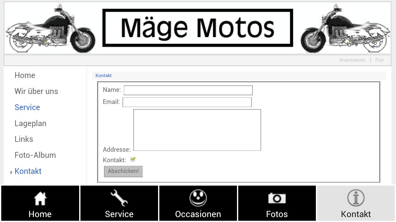 Mäge Motos Triumph Aprilia - screenshot