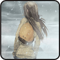 Winter Girl Live Wallpaper icon