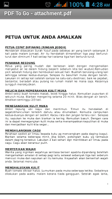 Petua Orang Tua - screenshot