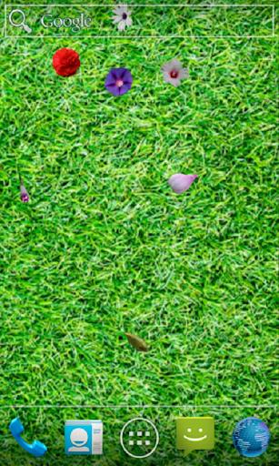 Blooming Garden Live Wallpaper