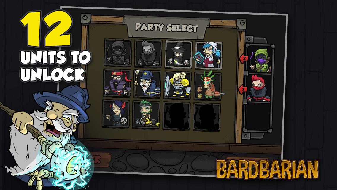 Bardbarian - screenshot