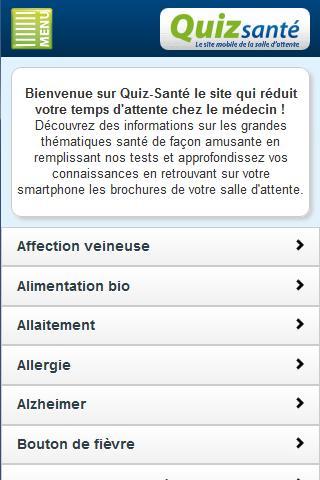 Quiz Santé