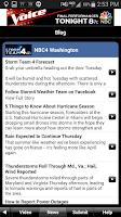 Screenshot of NBC4 Weather