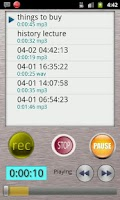 Screenshot of HQ Voice Recorder Lite